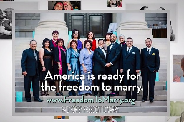 """New Pro-Marriage Equality Ad Targets Supreme Court: """"It's Time"""""""