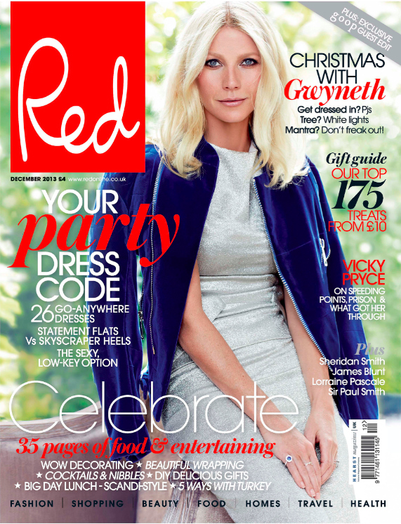 11 Things We Learned From Gwyneth Paltrow In Her Red Magazine Interview