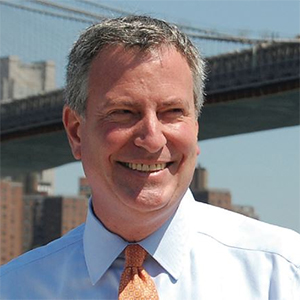 Bill de Blasio: 'There is no reason for New Yorkers to be alarmed.'