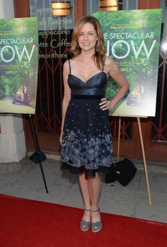 "Jenna Fisher At A Screening Of ""The Spectacular Now"""
