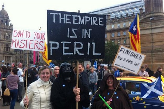 Here Are All The Silly Things Happening On The Internet While Scotland Votes