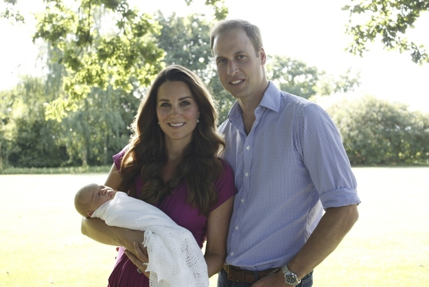 Prince George Will Have 7 Godparents