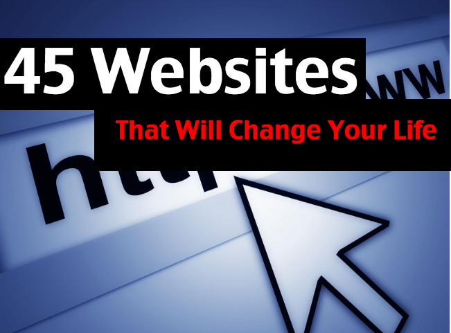 Community Post: 44 Unique And Useful Websites That Will Change Your Life