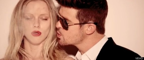 """Everyone Thinks Robin Thicke's """"Blurred Lines"""" Is """"Rapey"""""""