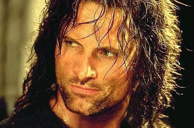 "21 Times Aragorn From ""Lord Of The Rings"" Had Better Hair Than You"