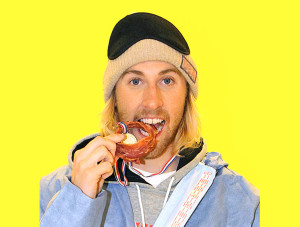 Gold Medalist Sage Kotsenburg Participates In His Toughest Competition Yet: The Snack Olympics