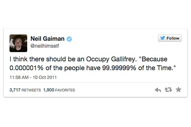 The 19 Funniest Neil Gaiman Tweets Of All Time