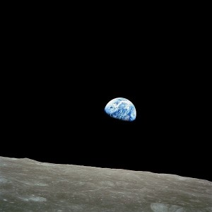 "What A Full ""Earthrise"" Looks Like From The Moon"