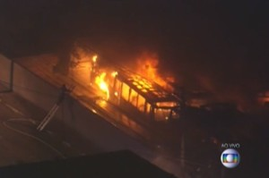 Fires, Looting, And Mass Robbery In Brazil After Team's World Cup Loss