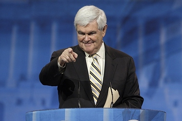 Newt Gingrich Dismisses Unity Ticket Reports