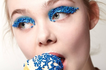 Elle Fanning Is As Sweet As Candy