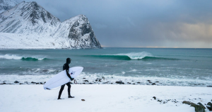 Surfing In Warm Weather Is For Suckers. These Guys Do It In The Arctic.